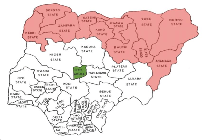 Figure-14-map-of-Nigeria-showing-the-desert-prone-states | Daily ...