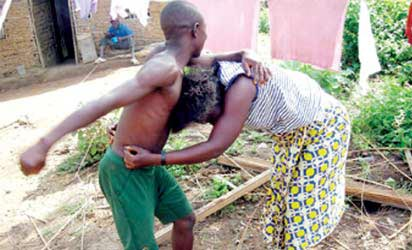 Man brutalises wife over feeding money (See photo) | Daily Family NG