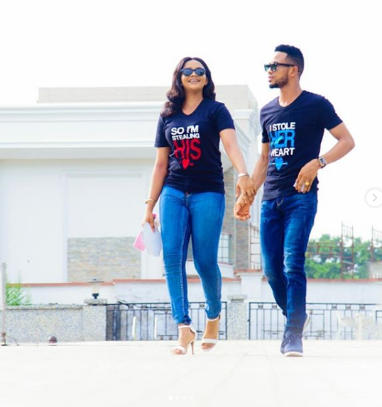 Pre Wedding Photos Of Nigeria Beauty Queen And Her Fiance4 Dailyfamily Ng